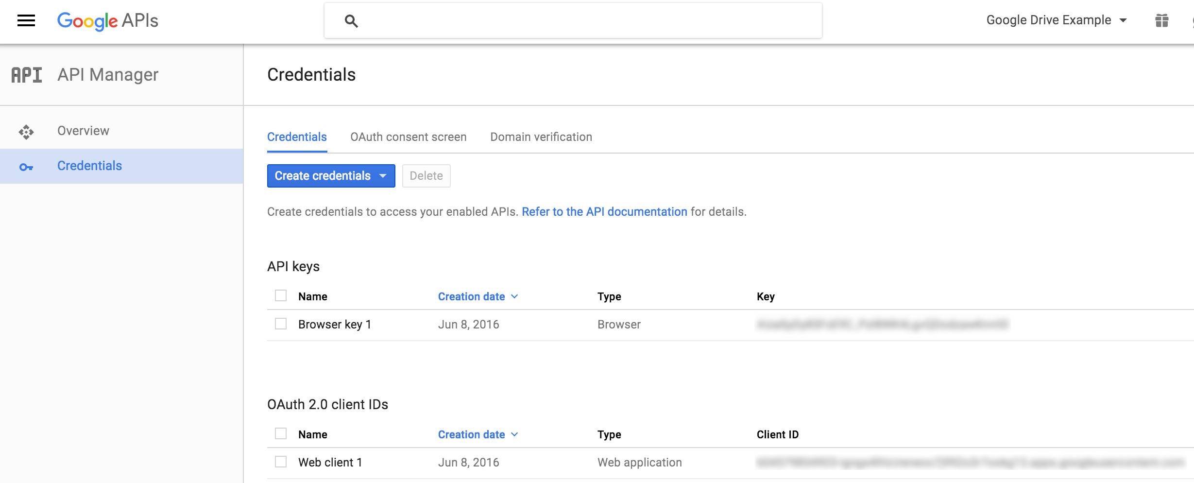 Google App Console